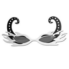 This pair of flaming white fancy dress glasses will be a great addition to your party outfit. Fancy Dress Glasses, Party Supplies, Dresses, Fashion, Vestidos, Moda, Party Items, Fashion Styles, The Dress