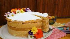 Receita de Bolo bem-casado, enviada por TudoGostoso - TudoGostoso Vanilla Cake, Desserts, Food, Youtube, Cookie Pie, Sweet Dreams, Cake Recipes, Bolo De Chocolate, Deserts