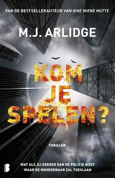 Arlidge - Thrillers and I Love Books, Books To Read, My Books, Dat Adam, Take It Easy, Reading Challenge, Love Words, Detective, Belgium