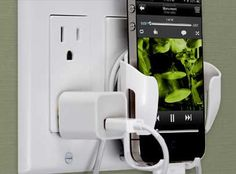 Now you can #dock your #iPhone, #Android or any mobile device right next to a power outlet or the controls for your home entertainment system. www.homecontrols.com