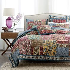 Provence Patchwork Quilt | The Company Store