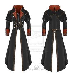Modele pour mon long jacket noire