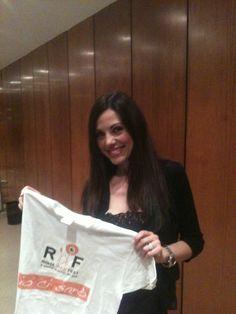 Francesca Ceci tra gli amici di #RomaWebFest #rwf #rwf2013