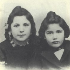 Colette Krieger murdered in the gas chamber in Auschwitz on April 15, 1944 with her mother and 9 year old sister Rosa. Colette would have been 6 years old a month later.