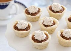 Cinnamon-Walnut Tartlets