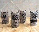 Toilet paper roll owls- maybe draw a simple owl face on paper, wrap and glue? Easier for the little ones