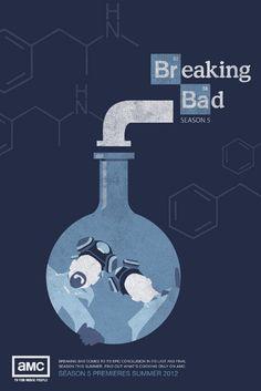 Breaking Bad Series Posters - Designs by Nus