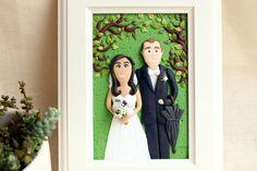 Custom wedding portrait custom family portrait by NicomadeMe