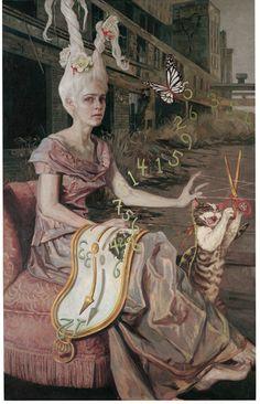 Gail Potocki - Fragmented Alice series