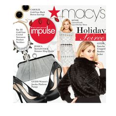 """Holiday Soiree Style: Macy's Contest Entry"" by honii on Polyvore"
