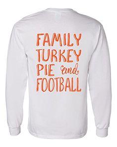 Long Sleeve Thanksgiving T-Shirt Family Turkey Pie Footba... https://www.amazon.com/dp/B01JPM7RHW/ref=cm_sw_r_pi_dp_x_KFHQxbRR190MD