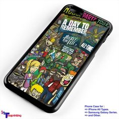 Pierce The Veil and a day to remember - Personalized iPhone 7 Case, iPhone 6/6S Plus, 5 5S SE, 7S Plus, Samsung Galaxy S5 S6 S7 S8 Case, and Other