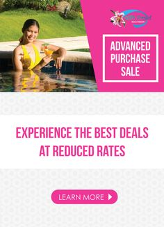 Plan ahead and save! Experience the best deals at reduced rates.  Book this April for August and get 35%* Book this April for July and get 30%* Book this April for June and get 25%* Book this April for May and get 20%*  Book this May for August and get 30%* Book this May for July and get 25%* Book this May for June and get 20%*  Book this June for October and get 35%* Book this June for September and get 30%* Book this June for August and get 25%*