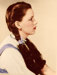 Judy Garland, as Dorothy Gale, in The Wizard of Oz.