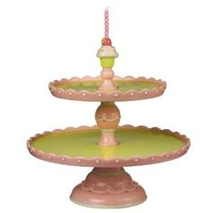 Distressed Domed Cake Stand