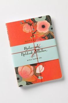 Rifle Paper Co. Sweet Briar Notebooks #anthrofave #stockingstuffer
