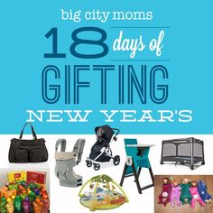 @bigcitymoms 18 DAYS OF GIFTING New Years!! http://www.bigcitymoms.com/blog/archive/2014/12/18-days-of-gifting-new-years-prize-pack.html