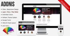 Adonis - Premium Responsive HTML5 Template