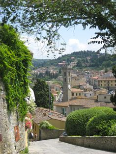 Fiesole, north of Florence 2010
