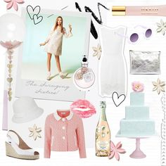 Mood board: Sweet Sixties - Mood boards and pretty themes - YouAndYourWedding