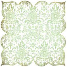 Basic Grey Origins - Doilies - White (Die Cut Lace Paper),$2.99
