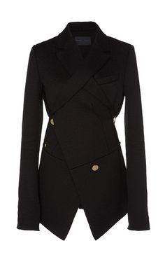 Asymmetrical Double Breasted Blazer by PROENZA SCHOULER Now Available on Moda Operandi