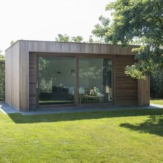Plans For Storage Shed Free 6x8 Shed, Garden Office Shed, Garden Ideas Diy Cheap, Wood Facade, Wood Storage Sheds, Garden Buildings, Garden Houses, Modern Tiny House, Small Space Gardening