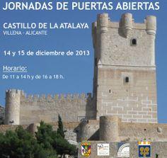 Jornadas de puertas abiertas del Castillo de la Atalaya de Villena.