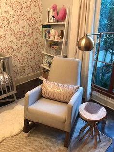 Nursing Nook in a Mo