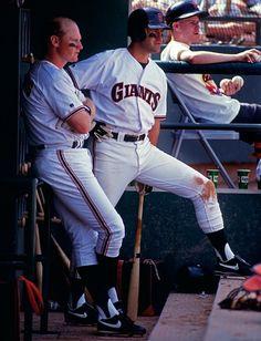 Will Clark & Matt Williams - San Francisco Giants-I Love this era!!!