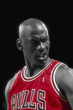 Michael Jordan & the look. For me, basketball hasn't been as exciting since he left the game. A men to that!!!