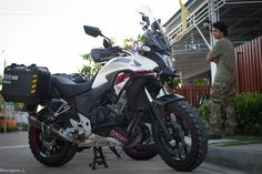 Honda CB500X adventure touring