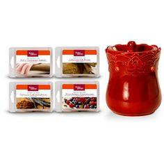 Better Homes and Gardens Warmer Combo Pack, Elegant Red