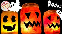 Easy Halloween Luminary - Great Jack O'Lantern DIY