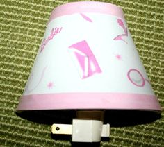 Nightlight made w Pottery Barn Kids BARBIE Doll by 3ButtonsN2Bows, $15.00