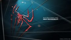 Spider Man Great Power HD 1080p Wallpaper
