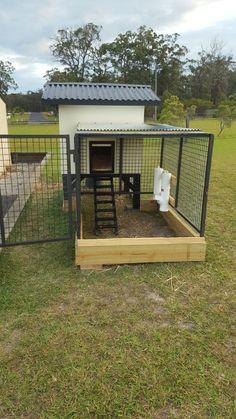 Ideas Diy Dog House Plans Easy Chicken Coops For 2019 Chicken Coop Kit, Cheap Chicken Coops, Chicken Cages, Portable Chicken Coop, Chicken Pen, Building A Chicken Coop, Chicken Houses, Chicken Feeders, Portable Dog Kennels