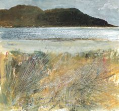 Kurt Jackson - sheltered in the sand dunes