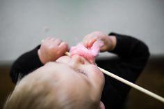 """40 """"Μου αρέσει!"""", 1 σχόλια - Shelby Hobbs (@shelbeenatural) στο Instagram: """"Adler discovered cotton candy at Amelia's first birthday. He discovered it 3 or so times to be…"""""""