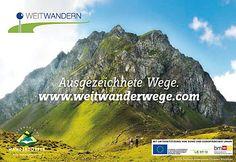 Ausgezeichnete Weitwanderwege auf www.weitwanderwege.com Portal, Tourism, Hiking, Viajes, Pictures