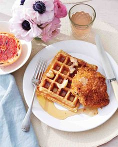 Serve this sweet and spicy spread with Buttermilk Oat Waffles and Oven-Fried Chicken for our take on a soul-food specialty.