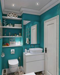 banheiro para sobrado pequeno lindo acabamento