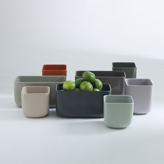 """DHP is a collection of ceramic containers for plants that has been specially made for the event """"Das Haus-Interiors on Stage"""" 2013. The event will feature Luca Nichetto as guest of honor and, as such, the designer will be engaged in the realization of his vision of the house.The collection is designed to bring out plants, which are the essential element of the idea of the house"""