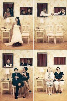 DIY: Photobouth pour le mariage : http://dollyjessy.com/2013/06/10/10-conseils-pour-un-mariage-au-pays-des-merveilles/