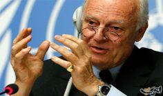 دي ميستورا: العمل يجري بجدية قبيل انطلاق…: أعلن المبعوث الخاص للأمين العام للأمم المتحدة إلى سورية ستافان دي ميستورا اليوم أن العمل يجري…
