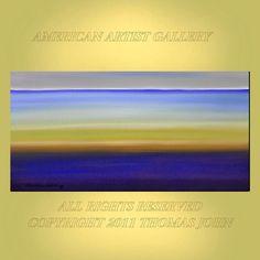 ORIGINAL PAINTING Large Abstract 24x48 door americanartsgallery, $199.70