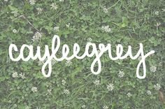 How to Include Your Handwriting in Photos // cayleegrey