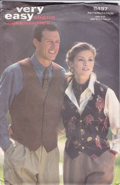 Your place to buy and sell all things handmade Mens Sewing Patterns, Vogue Patterns, Simplicity Sewing Patterns, Star Patterns, Vintage Men, Retro Vintage, 1940s Dresses, Ascot, Belted Dress
