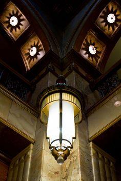 Lighting, Brown Palace Hotel, Denver.