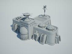 Image result for sci fi building 3 Point Perspective, Sci Fi, Image, Buildings, Scene, Sculpture, Google, Inspiration, Ideas